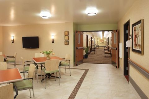 We opened this lunchroom to allow for easier wheelchair access plus more inclusive family gatherings.