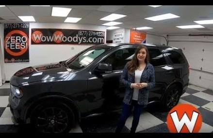 2017 Dodge Durango R/T Review   Video Walkaround   Used Cars and Trucks for sale at WowWoodys Atlanta Georgia 2018