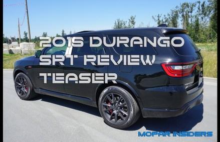 Teaser: 2018 Dodge Durango SRT – Test Drive & Review: San Diego California 2018