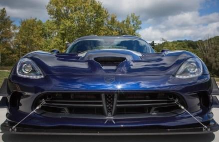 Dodge Viper Old in Bullring at AMS, Hampton, Georgia 2018
