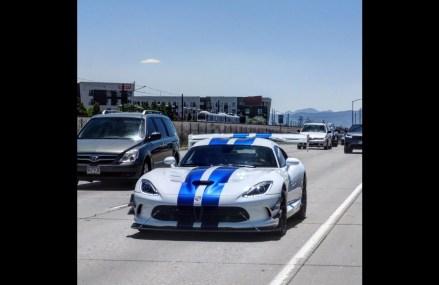 Dodge Viper Rims Near Oxford Plains Speedway, Oxford, Maine 2018