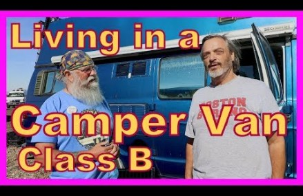 Living in a Class B Dodge Camper Van From Needham 2194 MA
