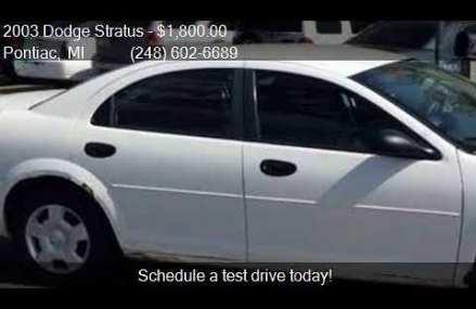 2003 Dodge Stratus Se 2.4l in Saint Paul 55105 MN