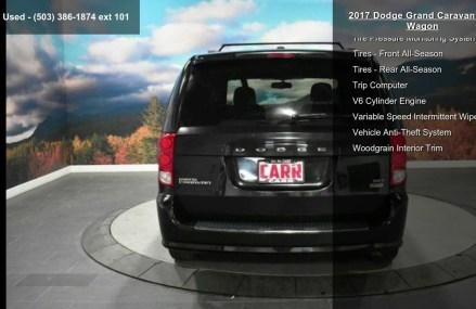 2017 Dodge Grand Caravan SXT Wagon For Madison 53744 WI