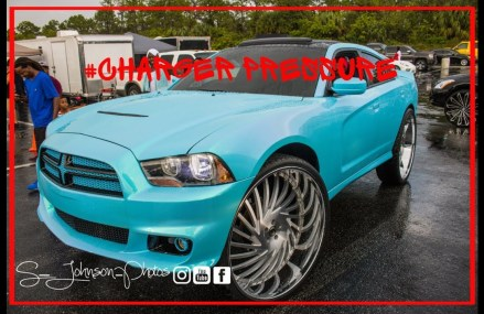 Outragious pearl with loud audio system: Dodge Charger on Forgiato Wheels in HD Local Area 1730 Bedford MA