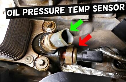 DODGE JOURNEY OIL PRESSURE SENSOR TEMPERATURE SENSOR REPLACEMENT 3.6 V6 PENTASTAR For Morganville 67468 KS