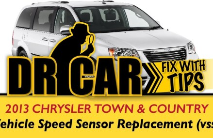 2013 Chrysler Town and Country – vehicle speed sensor (vss) Replacement ( p0731). For Manchester 53945 WI