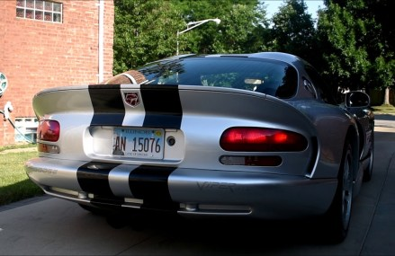 Dodge Viper Exhaust System in Whittemore Speedway, Whittemore, Michigan 2018