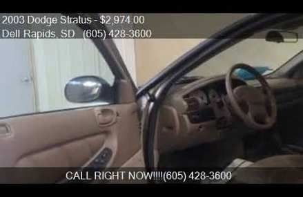 2003 Dodge Stratus Se 2.4l, Northvale 7647 NJ