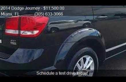 2014 Dodge Journey SXT for sale in Miami, FL 33142 at Coral at Mazomanie 53560 WI