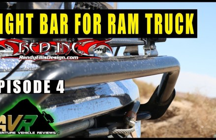 Light Bar from Randy Ellis. Project Power Wagon Episode 4 Locally at 46376 Schneider IN