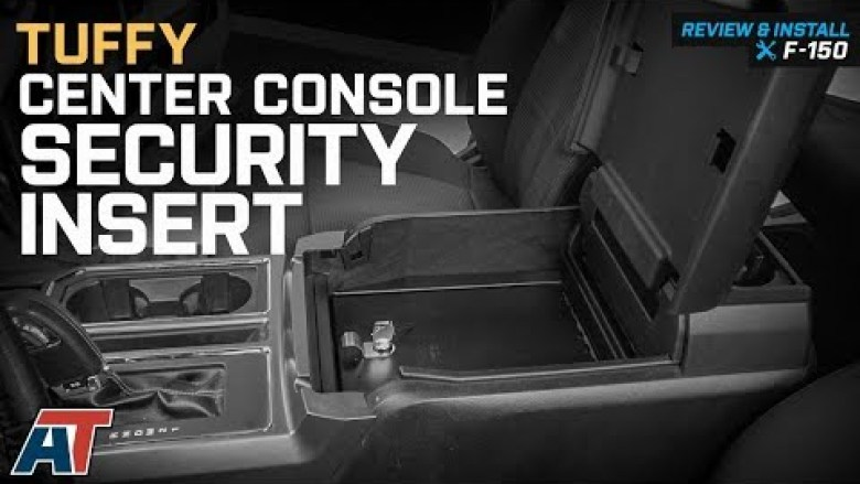 2015-2018 F150 Tuffy Center Console Security Insert - Flow-Through Center Console Review & Install Dodge Ram Center Console