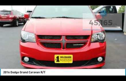 2016 Dodge Grand Caravan Holzhauer Auto and Motorsports Group 140763 in Marion 43307 OH