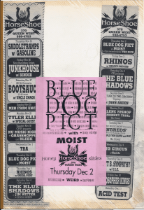 Moist opened for Blue Dog Pict at the Horseshoe Tavern