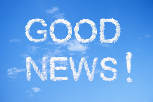 good news snippets of the week