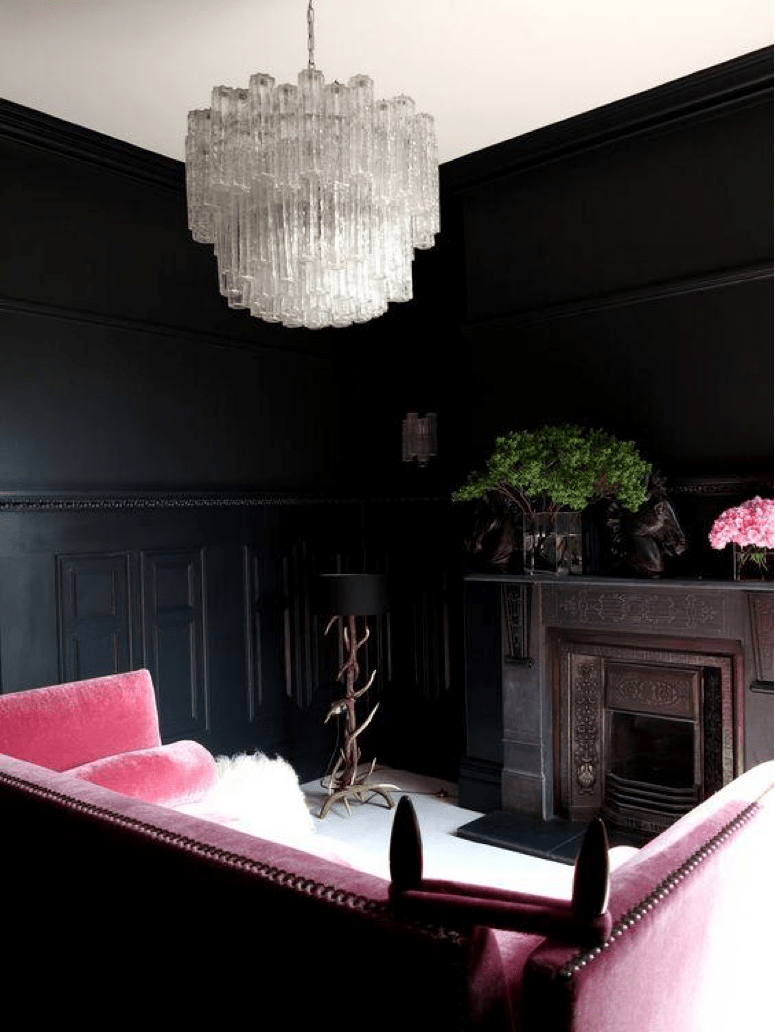 blush sitting room