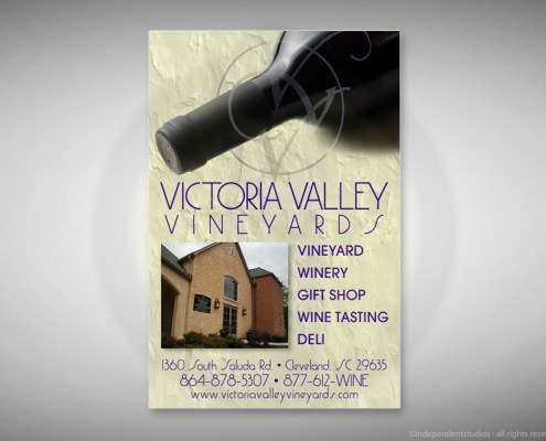 Vineyard Ad Design