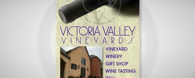 Vineyard Ad Design
