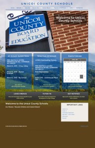 Web Design for Unicoi County Schools