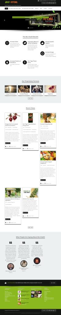 Bio-Vital Website
