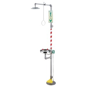 EW607 emergency eyewash and shower station manufacturer