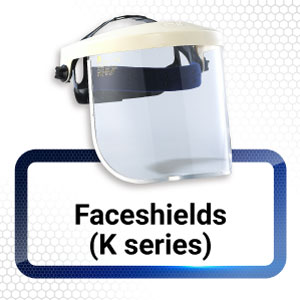 K series Face shields