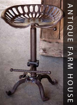 Cast-Iron-Tractor-Seat-Stool