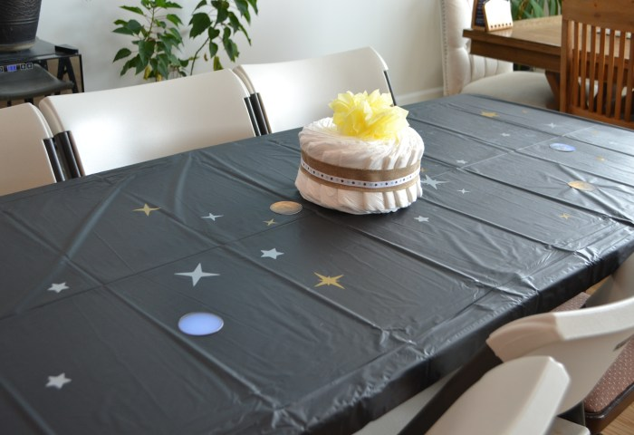 Out of this World- Universe Themed Baby Shower