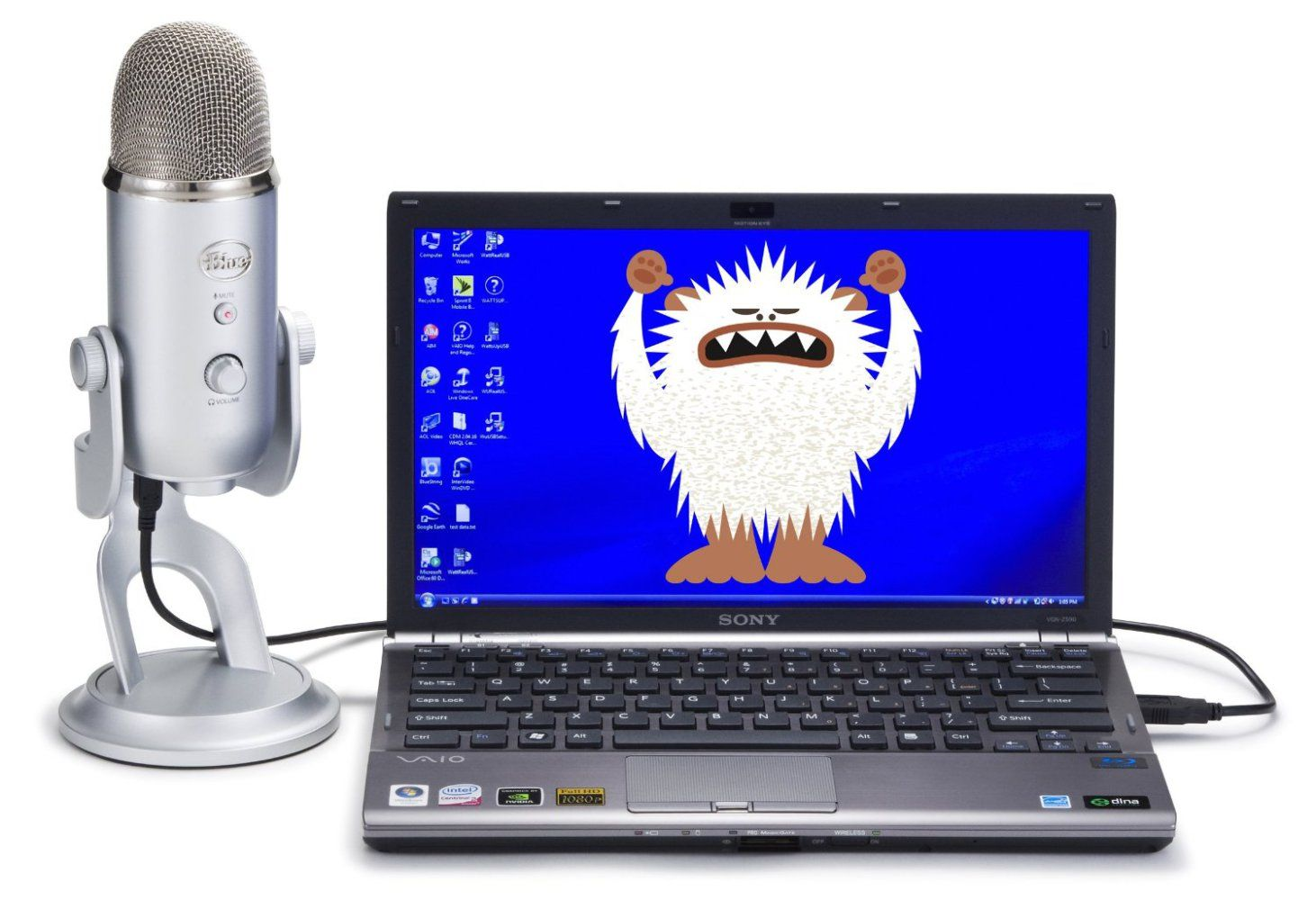 Blue Yeti review - I mean, it's actually silver 11