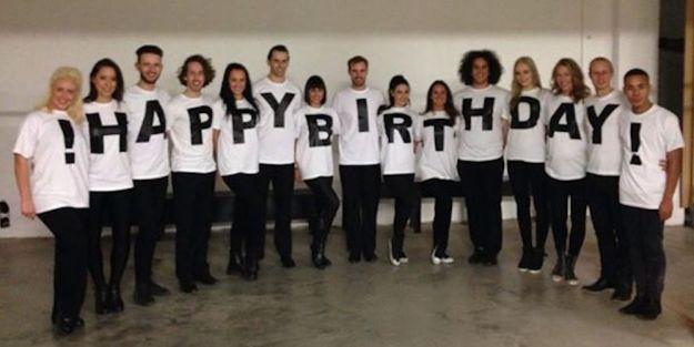 Happy Birthday Flashmob