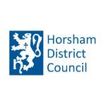 A logo for Horsham District Council