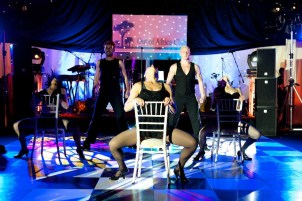 Chicago Themed Show Dancers