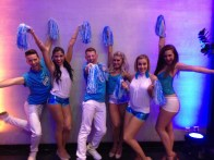 Cheerleading dancers Paris