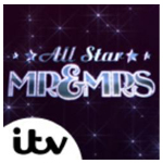 Logo of ITV's All Star Mr and Mrs