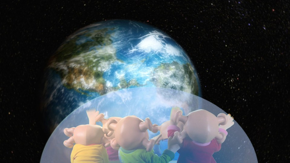The Zoonies travelling through Space