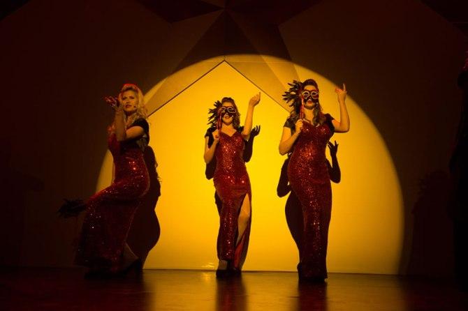 Masquerade performers