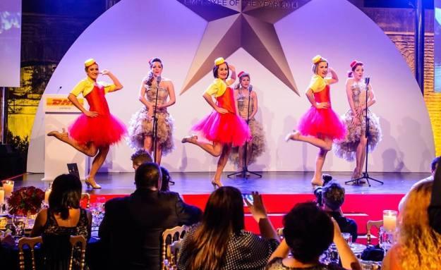 Award Show dancers