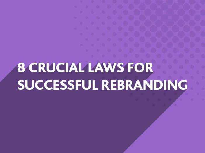 Crusical laws for rebranding from BlueFlameDesign
