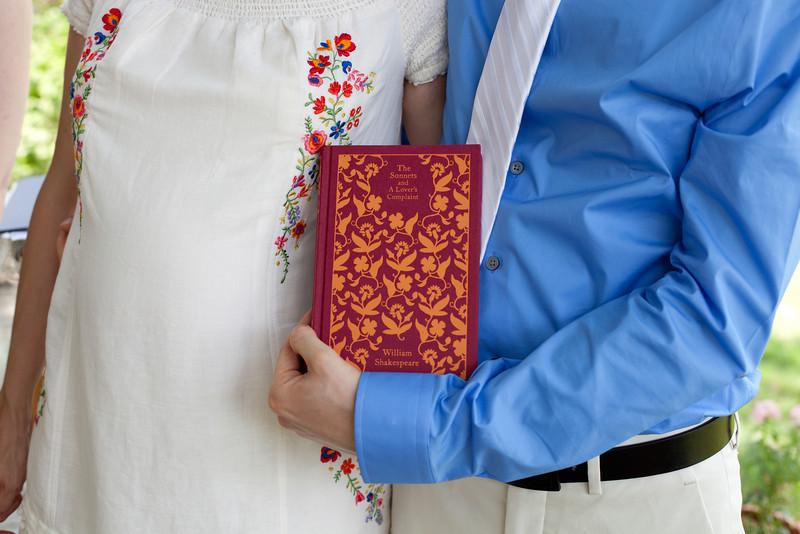 Andrea and Wjotek - Blueflash Wedding Photography - Backyard Wedding