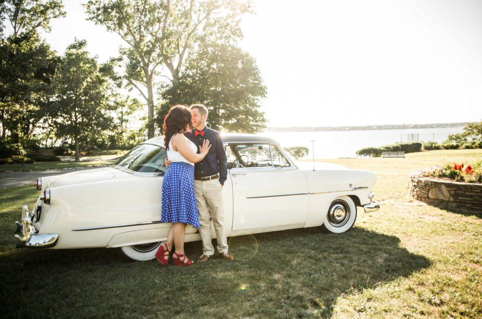 Michaela and PJ | Louff Carousel RIverside Engagement Photos | Blueflash Photography