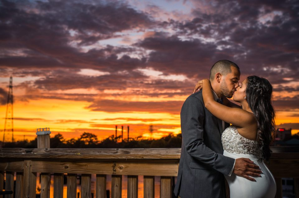 Erica and Tyrone | Al's Waterfront Wedding