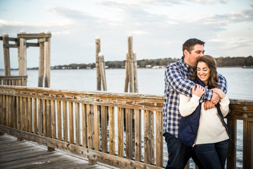 Jess and Nick   Engagement Session at Colt State Park   Blueflash Photography