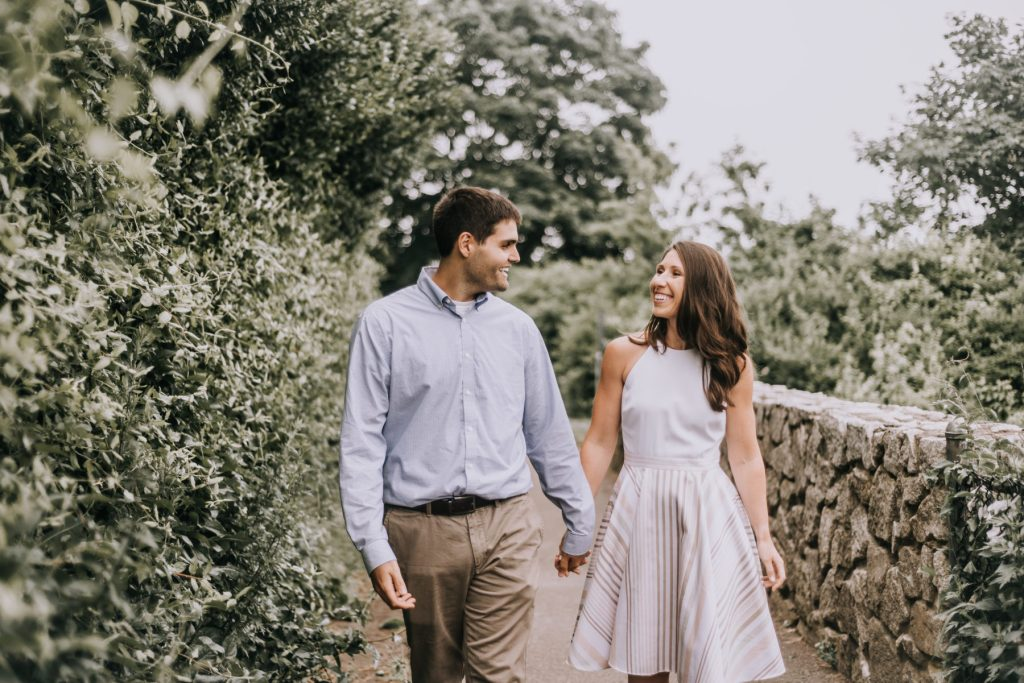 Katherine and Chris | Engagement Session on The Cliffwalk