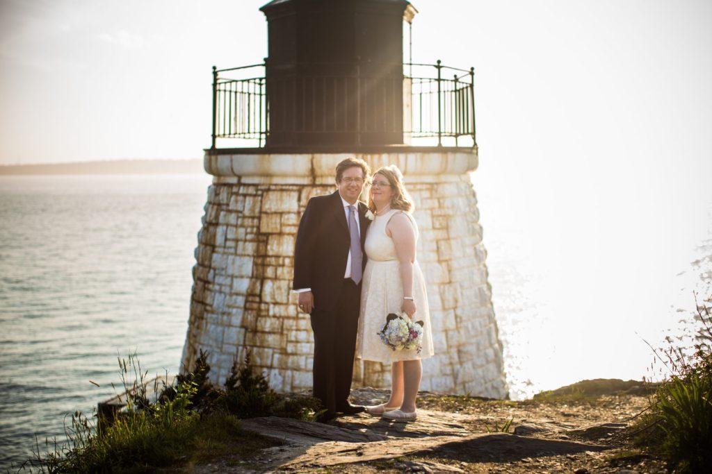 Melissa and Bob   Elopement at Castle Hill Inn   Blueflash Photography