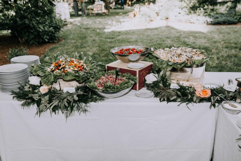 Sasha and Michael | Wedding buffet