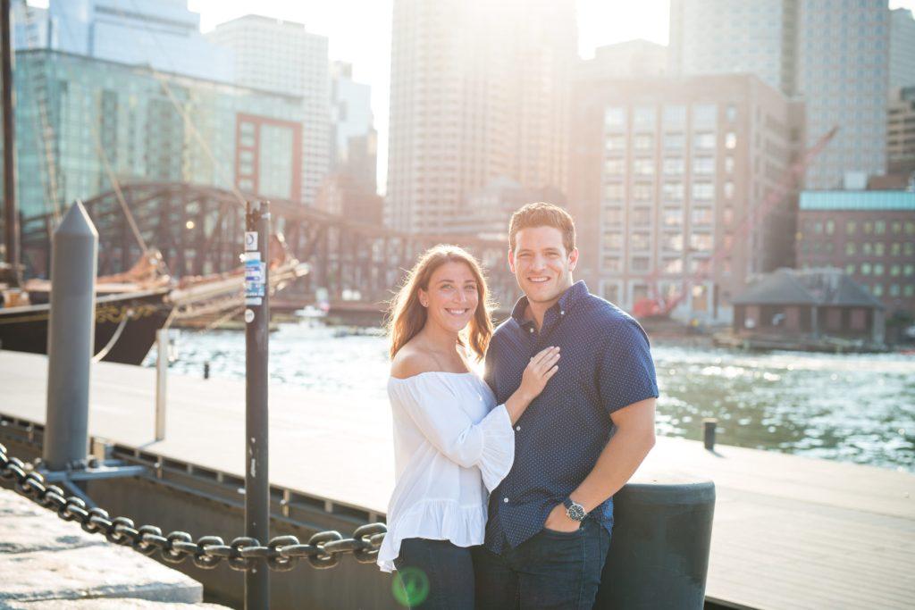 Boston Engagement Session Kara and Tim Blueflash Photography1