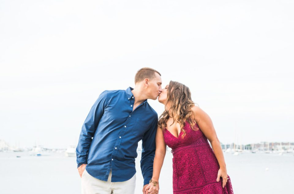 Katie and Jason | Castle Hill Newport Engagement