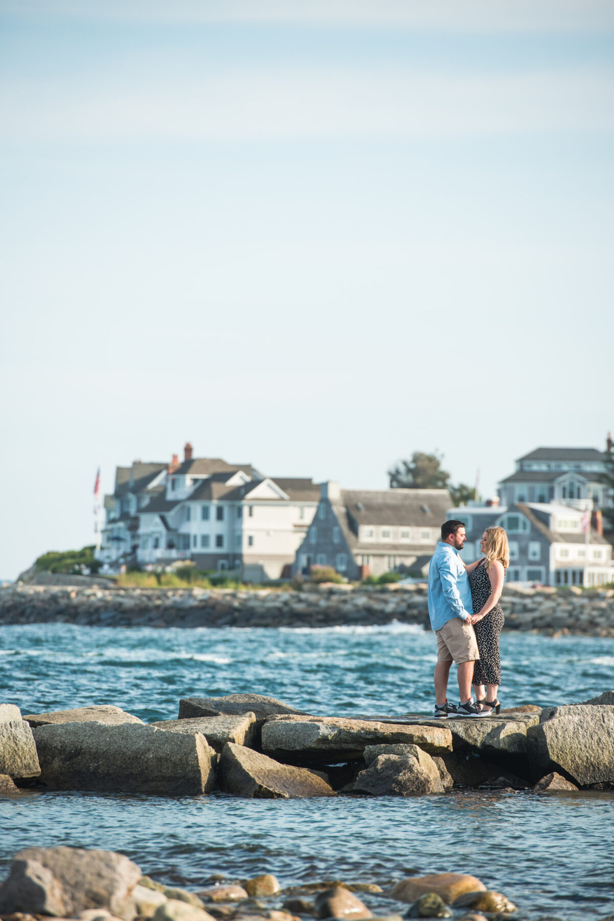 Scituate Lighthouse Engagement Melissa and Dan Blueflash Photography 2