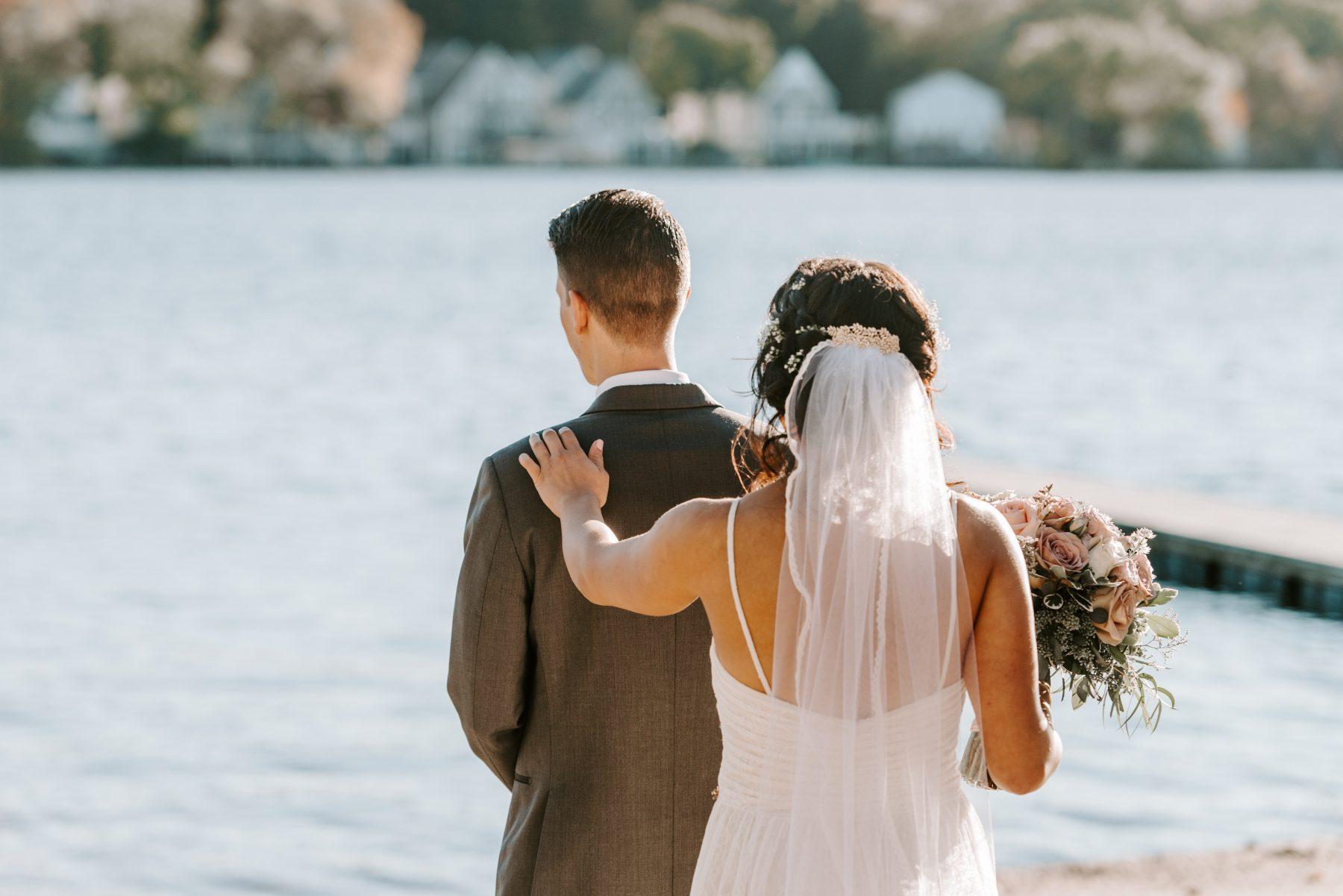 Lake Pearl Wrentham Wedding Olga and Caleb Blueflash Photography 7