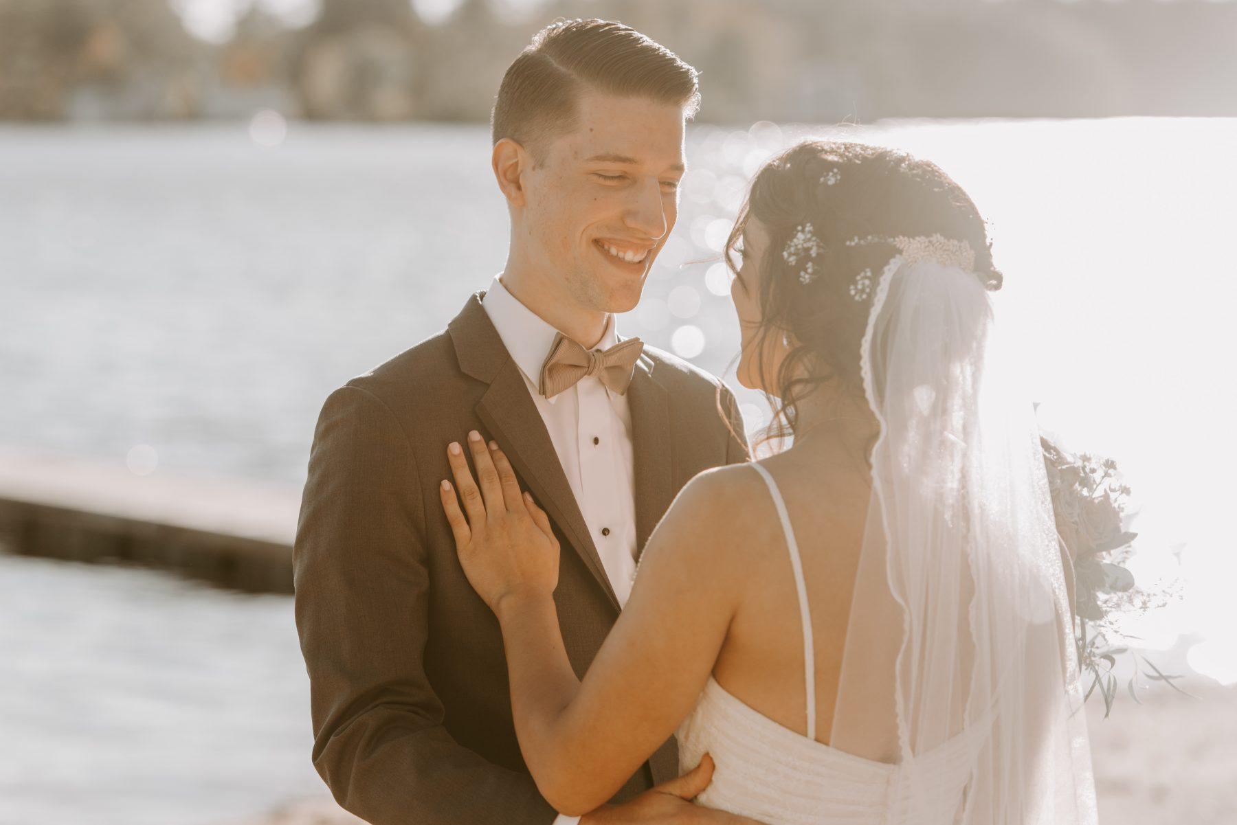 Lake Pearl Wrentham Wedding Olga and Caleb Blueflash Photography 9